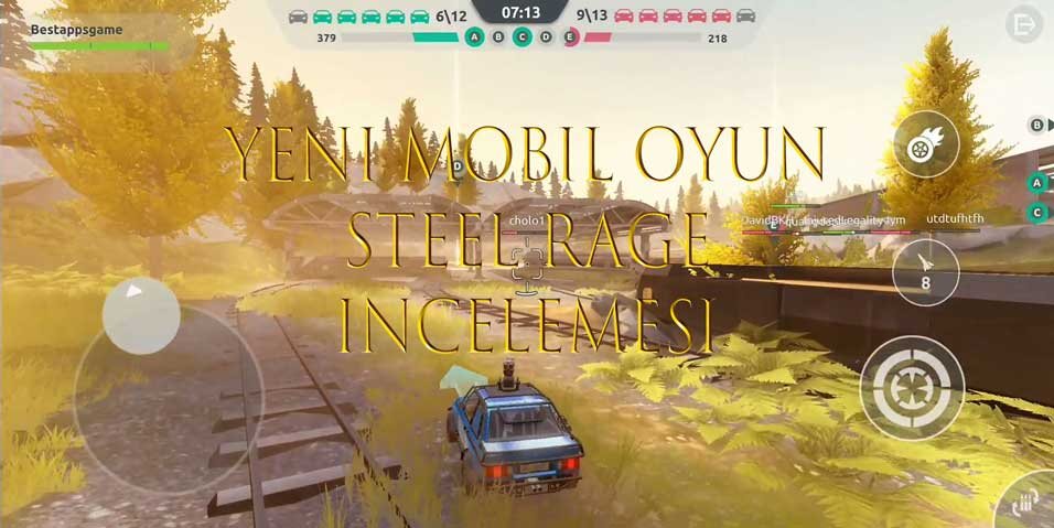 yeni mobil oyun steel rage