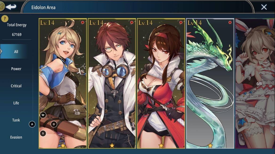 aura kingdom 2 eidolon